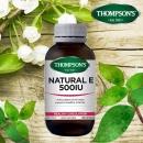 【特价】汤普森Thompson's 天然维生素E 500IU 100粒(保质期:2020年4月)