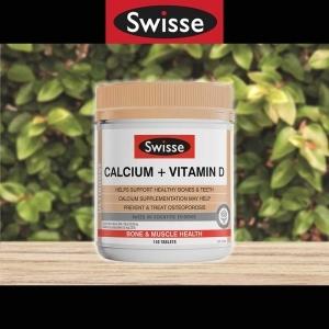 【抢购】Swisse 钙片加维生素D 150粒