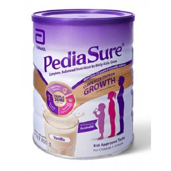 【NZ直邮】PediaSure雅培小安素儿童帮助奶粉 1-10岁 850g 香草味 单罐价(新版)