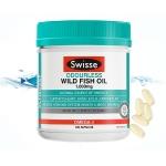 【NZ直邮】Swisse无腥味野生鱼油1000mg200粒