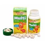 【NZ直邮】贺寿利Healtheries 儿童多元复合维生素咀嚼片 60片
