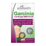 【NZ直邮】好健康GoodHealth Garcinia藤黄果绿茶减肥瘦身胶囊60粒