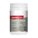 【NZ直邮】纽乐Nutralife 超级复合钙 有机高钙片120片