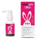 【NZ直邮】BioRevive Cleanears kids 婴幼儿童专用 耳垢清洁喷雾30ml