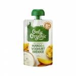 【NZ直邮】Only Organic婴儿有机果泥 8个月以上120g