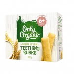 【NZ直邮】Only Organic宝宝磨牙棒饼干 6个月以上100g