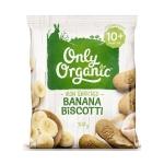 【NZ直邮】Only Organic宝宝香蕉磨牙饼干 10个月以上100g