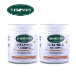 【团购特惠】汤普森Thompson's天然维生素VC1000mg150粒(到19年10月)2瓶