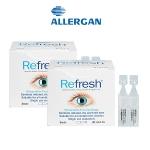 【团购特惠】Refresh 抗疲劳无防腐剂滴眼液眼药水30支独立包装 2盒