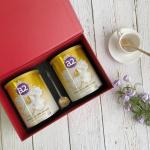 【NZ直邮】a2 PLATINUM 白金系列麦卢卡蜂蜜奶粉礼盒400g 2罐 包邮