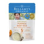 【NZ直邮】Bellamy's贝拉米有机婴儿米粉米糊宝宝辅食 125g 5个月以上(南瓜)