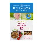 【NZ直邮】Bellamy's贝拉米有机婴儿蔬菜面 175g 12个月以上