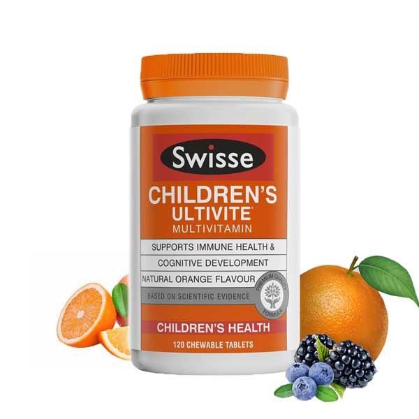 【特价】Swisse儿童多维矿物质咀嚼片 120片(保质期到20年11月)