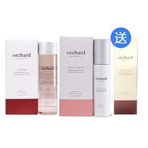 【买2送一】orchard 面部激活爽肤水150ml+保湿面霜 50ml +轻柔洁面乳 100g