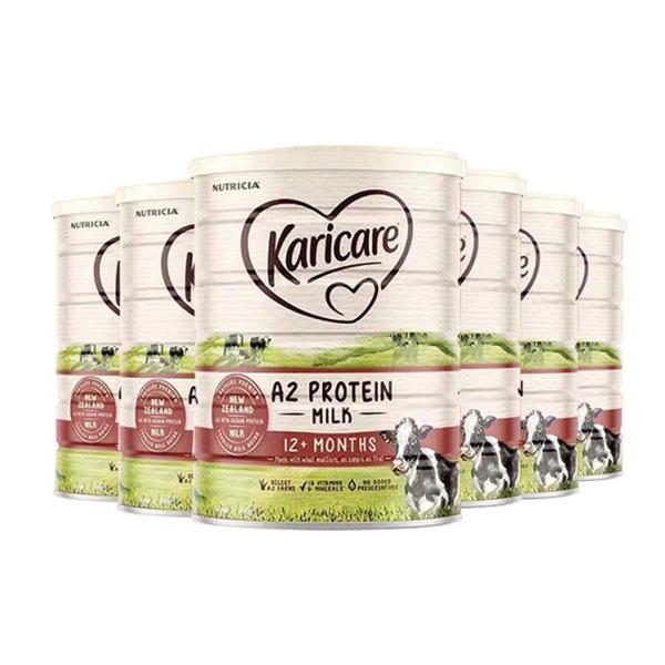 【NZ直邮】Karicare a2可瑞康A2蛋白牛奶粉3段6罐(6罐包邮)(下单请务必把收件人身份证备注在名字后面,否则不发货,疫情期间不保证清关时效)