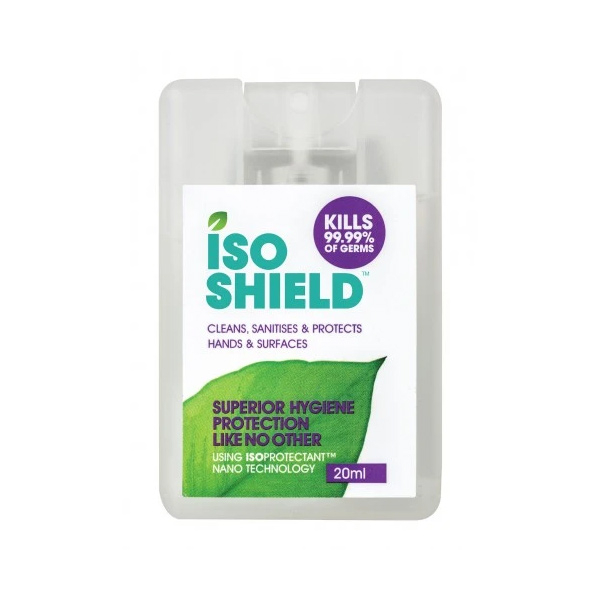 【NZ直邮】Iso shield免洗消毒洗手喷20ml