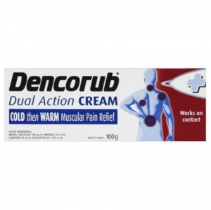 【NZ直邮】Dencorub 冰火两重 关节膏 100g (红色包装)