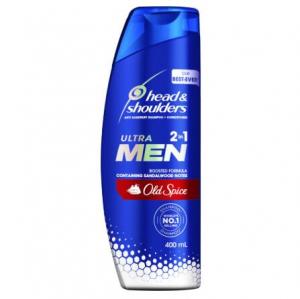 【NZ直邮】 海飞丝头肩男士洗发水和护发素香料二合一 400ml