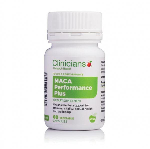 【NZ直邮】科立纯Clinicians 玛卡胶囊60粒 增强精力 体力 增强性能力
