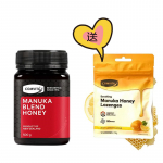 【买就送】康维他Comvita 麦卢卡混合蜂蜜500g + 麦卢卡蜂蜜糖 54g