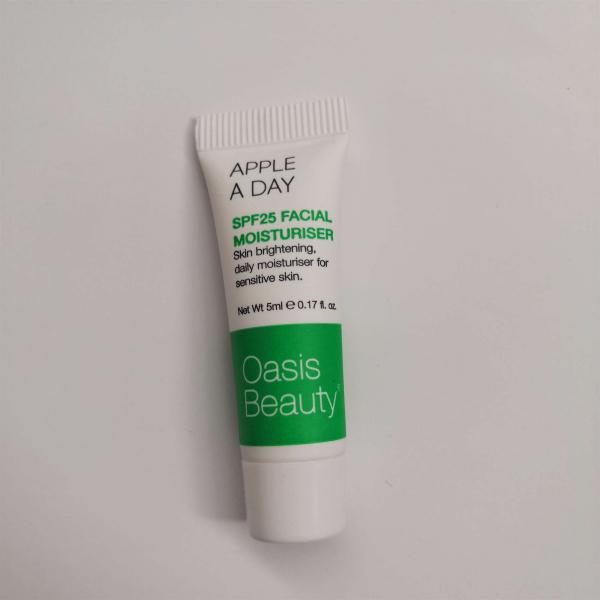 【赠品】Oasis纯天然面部保湿霜5ml(保质期到:20-08)