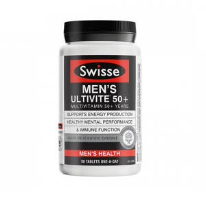 【特价】Swisse 中老年复合维生素男士50+ 90粒(保质期2021.05)