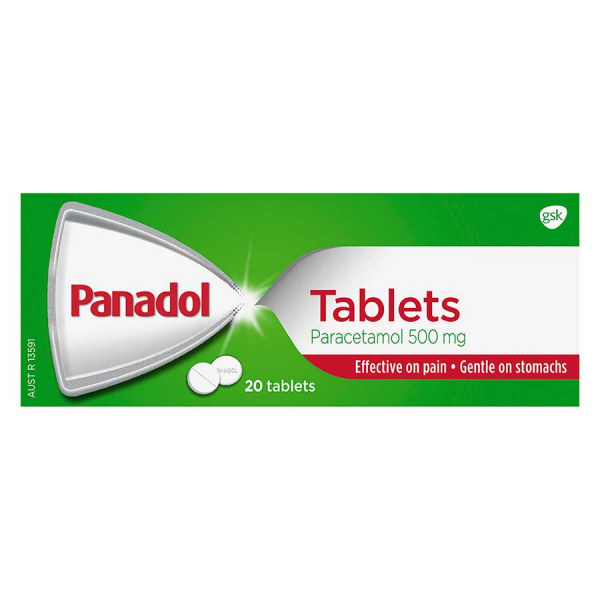【NZ直邮】Panadol Tablets 必理痛头痛发热片20片